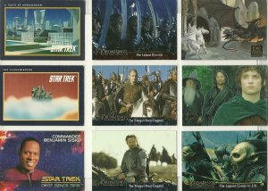Star Trek/Lord of The Rings Trading Cards