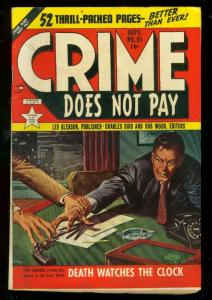 CRIME DOES NOT PAY #91 1950-LEV GLEASON-AL McWILLIAMS VF