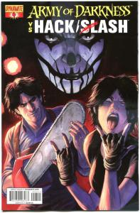 ARMY OF DARKNESS HACK SLASH #4, NM-, 2013, Horror, more AOD in store
