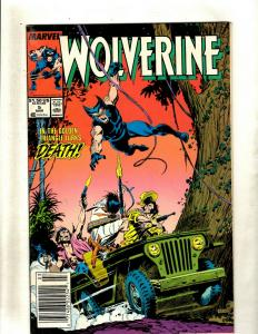 Lot of 12 Wolverine Marvel Comic Books #5 8 9 11 12 16 17 21 34 35 38 40 J369