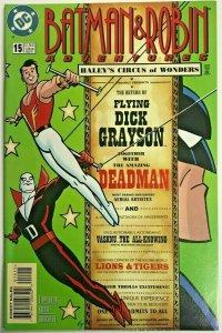 BATMAN & ROBIN ADVENTURES#15 VF/NM 1997 DC COMICS