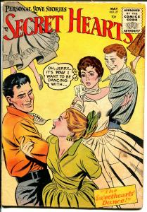 Secret Hearts #27 1955-DC-1st code issue-historic-VG-