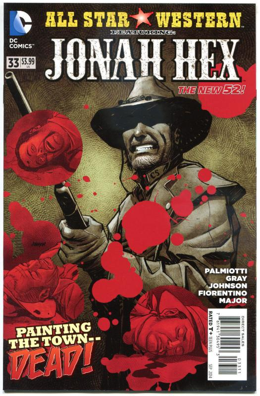 ALL STAR WESTERN #33, NM, Jonah Hex, Johnson, Justin Gray, 2011,more in store