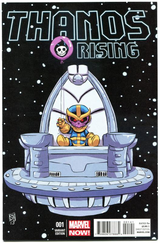 THANOS RISING #1 2 3 4 5, NM, Jason Aaron, 2013, more Marvel in store, Variant