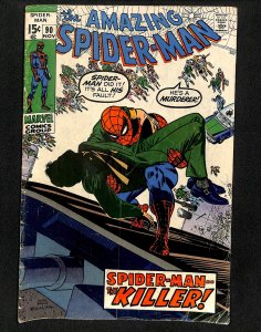 Amazing Spider-Man #90 Death of Captain Stacy!