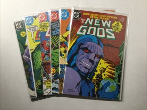 New Gods 1 2 3 4 5 6 Lot Run Set Near Mint Nm Dc Comics