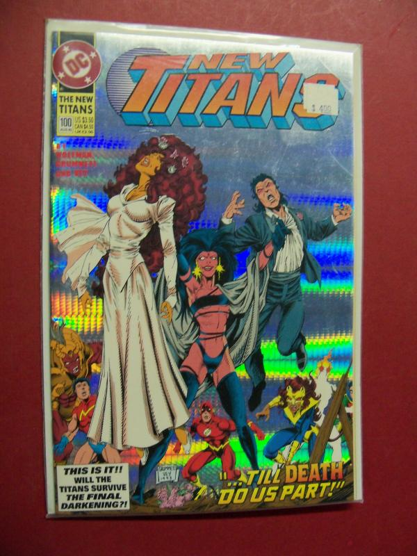 NEW TITANS  #100 VF/NM OR BETTER DC COMICS FOIL COVER