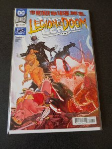 JUSTICE LEAGUE #8 LEGION OF DOOM NM HARD TO FIND BATMAN WHO LAUGHS ISSUE