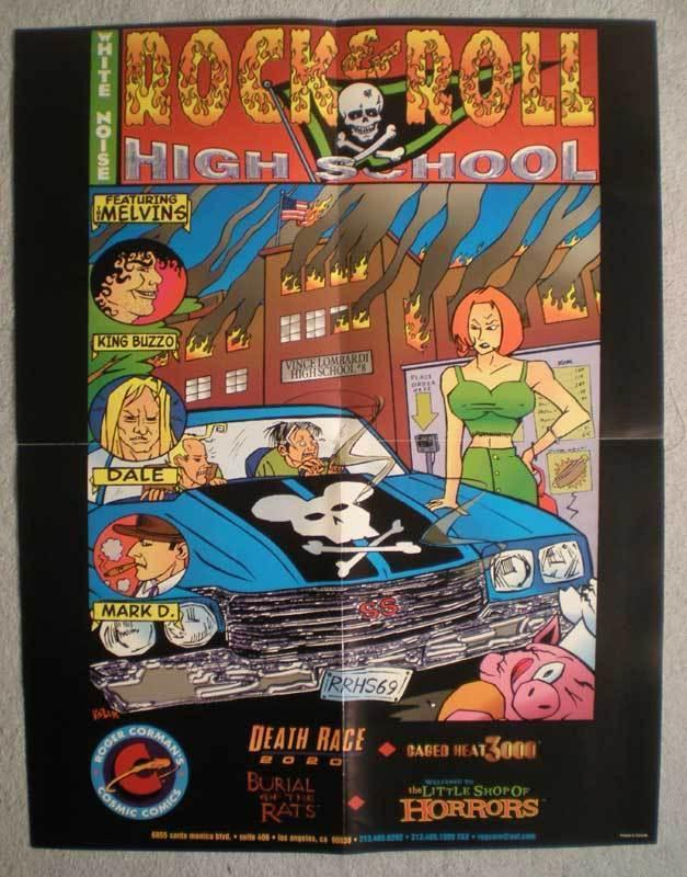 ROCK & ROLL HIGH SCHOOL Promo poster, 17x22, Unused, more Promos in store