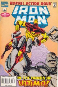 Marvel Action Hour featuring Iron Man #3, VF (Stock photo)