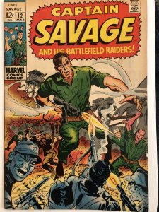 Captain Savage #12,VG, 6 pages of art by Wood