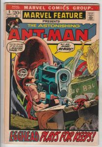 Marvel Feature presents Ant-Man, The Astonishing #5 (Sep-72) VG/FN Mid-Grade ...