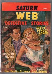 Saturn Web Detective Stories2/1959-Candar-violence-female abuse-VG
