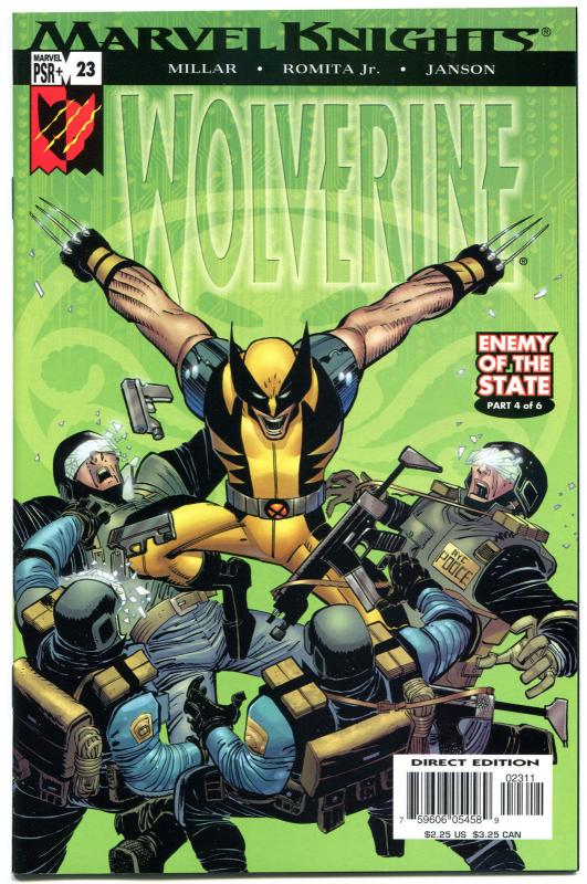 WOLVERINE #23, NM+, X-men, John Romita, Mark Millar, 2003, more in store