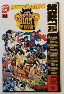 Young Justice Sins Of Youth #1 Secret Files And Origins DC Comics 2000 VF/NM
