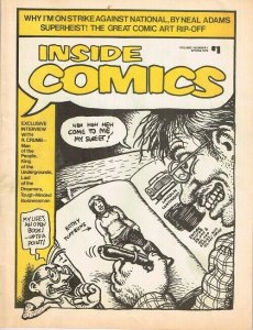 Inside Comics  Vol.1 #1  (Spring 1974)