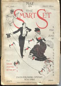 Smart Set 5/1901-A Magazine Of Cleverness-early pulp format-G/VG