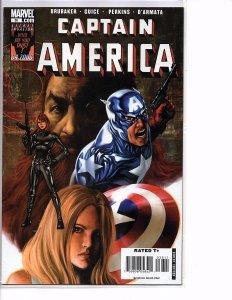 2006 Marvel Comics Captain America #35 & 36  NM Death of Captain America New Cap