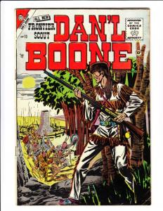 Daniel Boone, Frontier Scout #10 (Jan-56) VG/FN Mid-Grade Daniel Boone