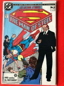 SUPERMAN THE MAN OF STEEL #4 1986 DC /  / HIGH QUALITY