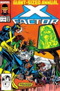 X-Factor (1986 series) Annual #2, VF+ (Stock photo)