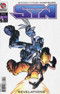 Syn #4 VF/NM; Dark Horse | save on shipping - details inside