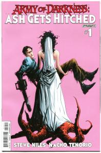 ARMY OF DARKNESS Ash Gets Hitched #1, VF/NM, Bruce Campbell, 2014, more in store