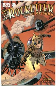 ROCKETEER Cargo of DOOM #1 2 3 4, NM, Dave Stevens, Bettie Page, 2012, 1-4 set,A