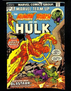 Marvel Team-up #18 Human Torch Incredible Hulk!
