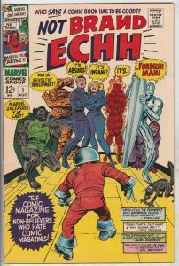 Not Brand Echh #1 (Aug-67) VF High-Grade Fantastic Four, Captain America, Nam...