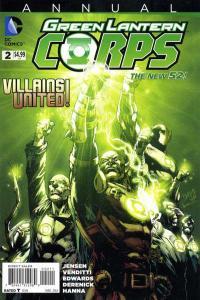 Green Lantern Corps (2011 series) Annual #2, NM- (Stock photo)