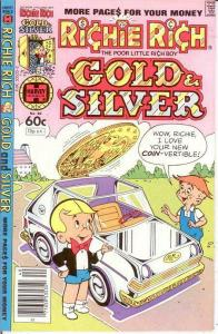 RICHIE RICH GOLD & SILVER (1975-1982) 40 VF-NM COMICS BOOK