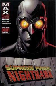 Supreme Power: Nighthawk #1, NM- (Stock photo)