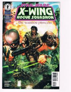 Star Wars X-Wing Rogue Squadron Warrior Princess # 2 Dark Horse Comic Books! S40