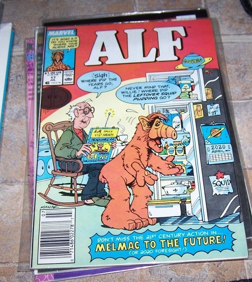 ALF SUPER-SIZED HOLIDAY SPECIAL #1-1988-NBC TV-COMIC NM