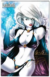 Lady Death Killers #1 Instant Limited Edition #62/99 Signed 2x w/COA (NM)