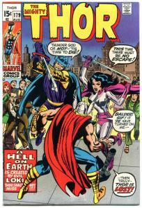 THOR #179, VF, Jack Kirby, Loki, God, Stan Lee, 1966, Thunder,more Thor in store