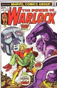 Warlock, the Power of  #7 (Aug-73) NM- High-Grade Adam Warlock
