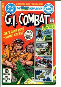 G.I. COMBAT #244-DC WAR-WWII ACTION VF/NM
