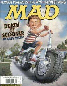 Mad (1952 series) #402, NM (Stock photo)