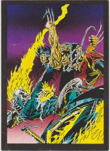 1992 Ghost Rider II Trading Card #45 Hot Heads
