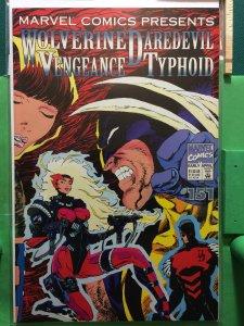 Marvel Comics Presents #151 Wolverine Daredevil Vengeance Typhoid