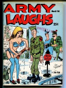 Army Laughs 3/1968-military cartoons, jokes, comic strips-Don Orehek-FN