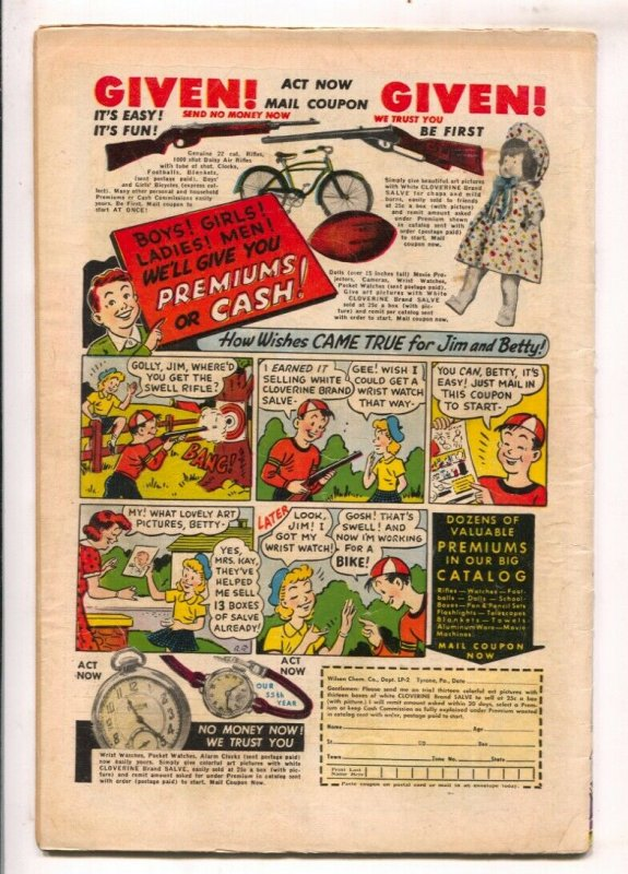 Let's Pretend #2 1950-D.S.-based on radio series-fairy Tales-Conceited Dragon...