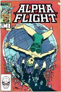 Alpha Flight #4 FN