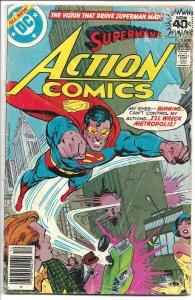 Action Comics #490, - Bronze Age - Dec., 1978 (G+)