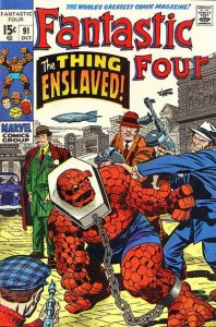 Fantastic Four #91 (ungraded) stock photo / SCM