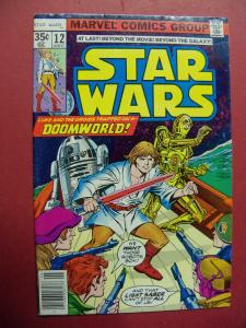 STAR WARS #12 STANDARD 35 CENT SQUARE PRICE BOX (FN+ 6.5 OR BETTER)