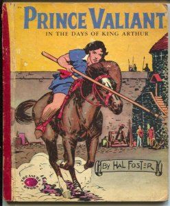 Prince Valiant #874 1954-Treasure Books-Hal Foster color art on every page-G