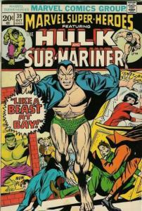 Marvel Super-Heroes (1967 series) #39, Fine (Stock photo)